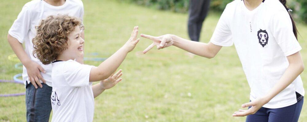 Kinderen, plezier, kamp