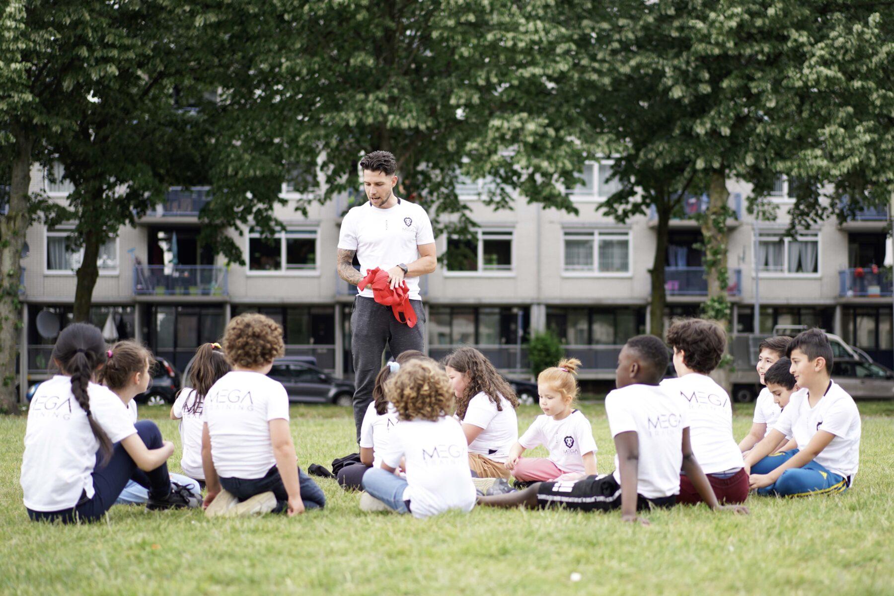 Kinderen, plezier, sportkamp